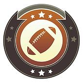 Football imperial button