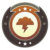 Storm cloud imperial button