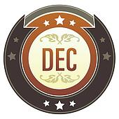 December imperial button
