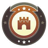 Castle imperial button