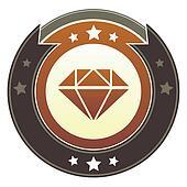 Diamond imperial button