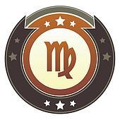 Virgo imperial button