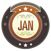 January imperial button