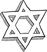 Star of David sketch