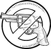 Handgun ban sketch