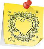 Valentine's Day reminder sketch