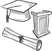 Graduation objects sketch