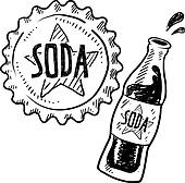 Soda Clip Art - Royalty Free - GoGraph