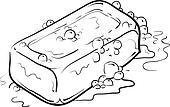Bar of soap sketch