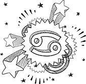 Pop Cancer astrology symbol