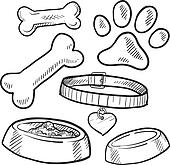 Pet objects sketch