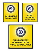 Video surveillance camera sign part 2
