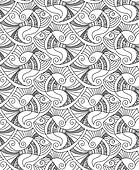 seamless vector fish patterns