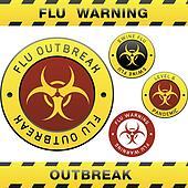 Swine flu warning sign