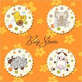 cartoon baby toys items collection