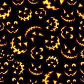 Halloween terror background pattern