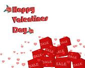 happy valentines day backround