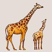 picture Giraffe Art