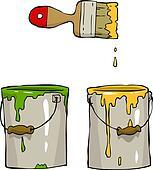 Cartoon paint