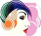 Woman vector illustration