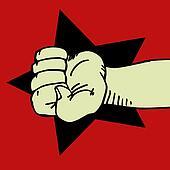 Rebel hand