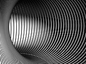 Silver tunnel 3d backgroud