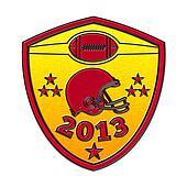 american football champions 2013 shield
