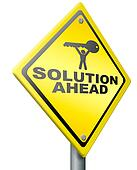 solution ahead solve problem