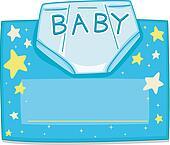 Card Design Diaper