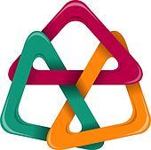 Triangle design element
