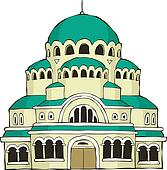 The Byzantine church