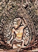 The Sculpture sandstone of angel