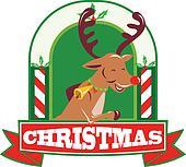 Reindeer Deer Stag Buck Christmas
