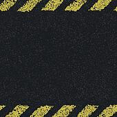Hazard yellow lines background. Vector illustration, EPS8