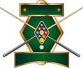 Nine Ball Emblem Design