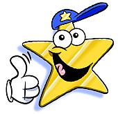 Thumb up star.
