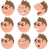 Round Face Expressions