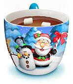 Christmas Cup of Hot Chocolate