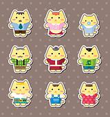 cat family stickers