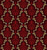 Luxurious vector brocade pattern/t