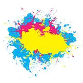 Colorful Splattered Paint