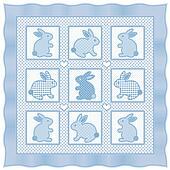 Baby Bunny Rabbits Quilt