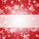 beautiful red star frame