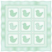 Baby Ducks Quilt