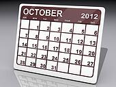 Month of October 2012