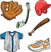 Cartoon Sports Equipment