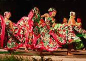 South American dancers