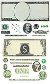 Are fixed detailed vector ornament liberally founded one hundred dollar bills