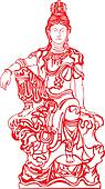 Goddess Buddha