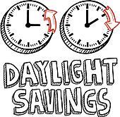 Daylight savings time sketch
